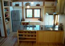 鎌倉のキッチン施工